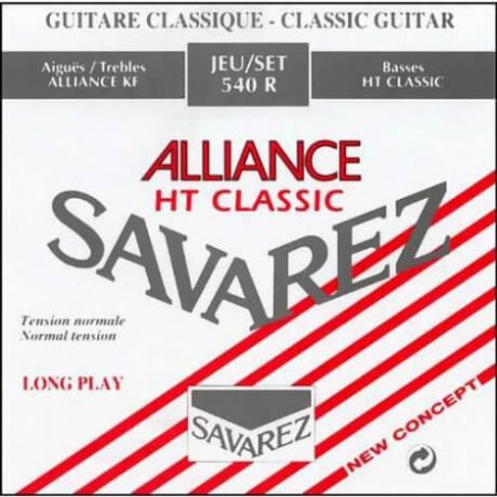 Savarez - Savarez 540R Alliance HT Classic Rouge Klasik Gitar Teli