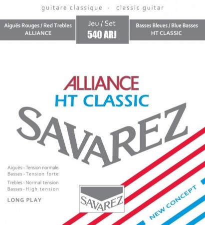 Savarez - Savarez Alliance HT Classic Mixed Tension 540ARJ Klasik Gitar Teli
