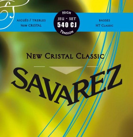 Savarez - Savarez New Cristal 540CJ High Tension Klasik Gitar Teli