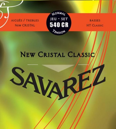 Savarez - Savarez New Cristal 540CR Normal Tension Klasik Gitar Teli