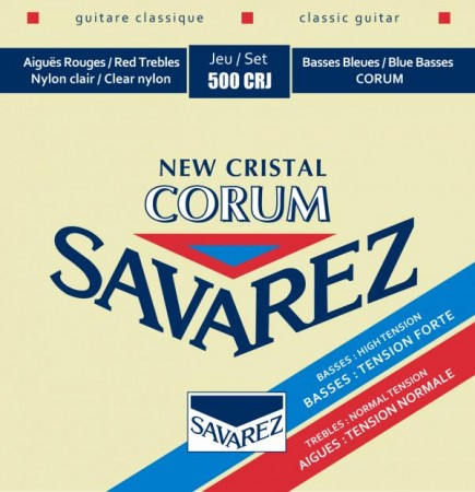 Savarez - Savarez New Cristal Corum Mıxed Tension 500CRJ Klasik Gitar Teli