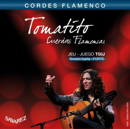 Savarez - Savarez Tomatito T50J High Tension Flamenco Gitar Teli