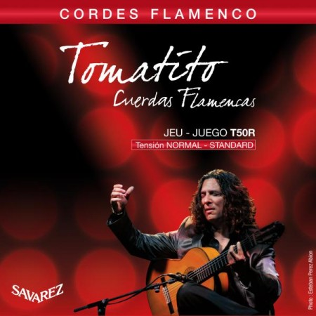 Savarez - Savarez Tomatito T50R Normal Tension Flamenco Gitar Teli