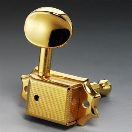 Schaller - Schaller F ST6B Gold 3+3 Elektro Gitar Burgusu