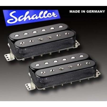 Schaller - Schaller Humbucker Golden Siyah Bağlama Manyetik Seti