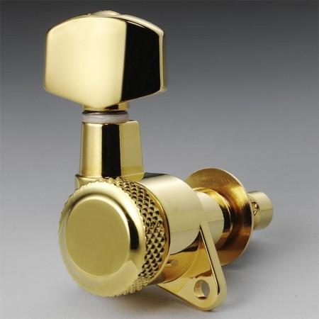 Schaller - Schaller M6 Kilitli Gold 3+3 Elektro-Akustik Burgu Takımı