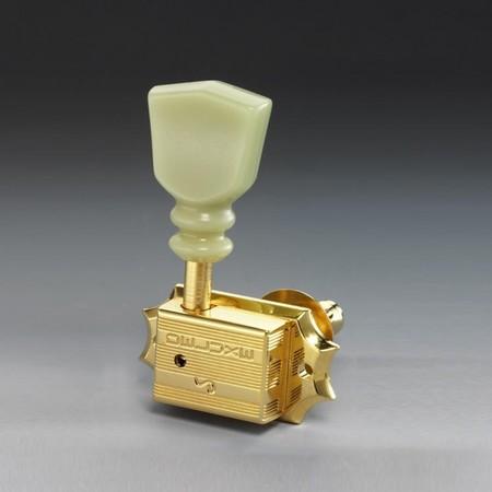 Schaller - Schaller Original G Keystone Gold Elektro Gitar Burgu Seti