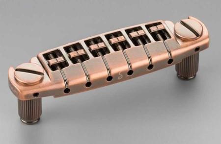 Schaller - Schaller Signum Les Paul Stil Elektro Gitar Köprüsü (Vintage Copper)