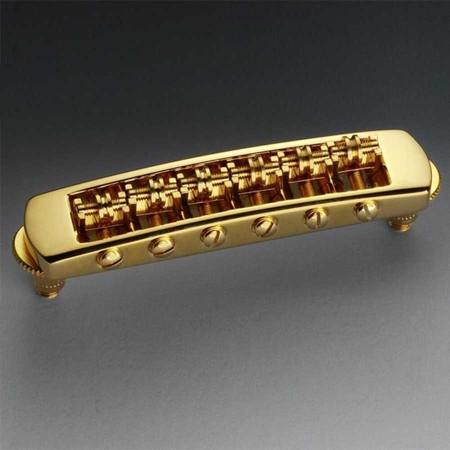 Schaller - Schaller STM Tune-O-Matic Les Paul Stil Gitar Köprüsü (Gold)