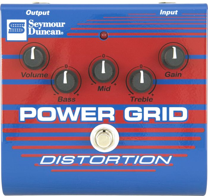 Seymour Duncan Power Grid SFX-08 Distortion Pedalı