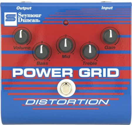 Seymour Duncan - Seymour Duncan Power Grid SFX-08 Distortion Pedalı