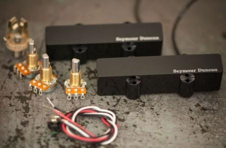 Seymour Duncan Pro-Active™ for Jazz Bass® AJJ-1 Bridge-Köprü Manyetik - Thumbnail