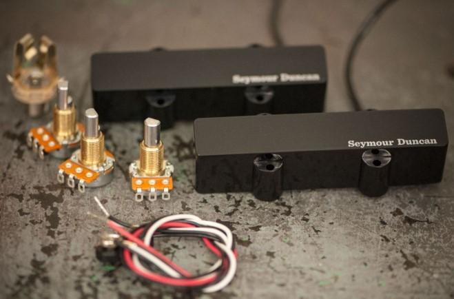 Seymour Duncan Pro-Active™ for Jazz Bass® AJJ-1 Bridge-Köprü Manyetik
