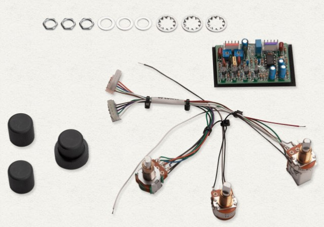 Seymour Duncan STC-2A 2Band Aktif Bass Preamp
