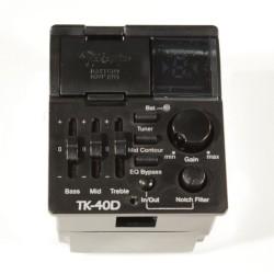 Takamine - Takamine 3 Band TK-40D Akustik Gitarlar için EQ