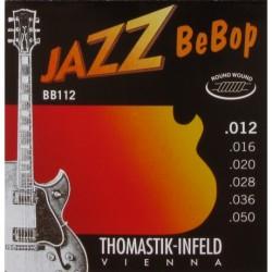 Thomastik - Thomastik BB112 Jazz BeBop Elektro Gitar Teli (12-50)