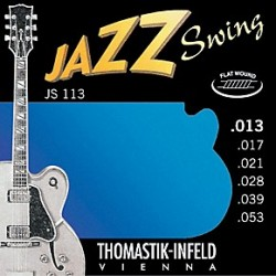 Thomastik - Thomastik JS113 Jazz Swing Elektro Gitar Teli (13-53)