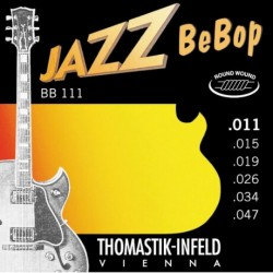 Thomastik - Thomastik BB111 Jazz BeBop Elektro Gitar Teli (11-47)