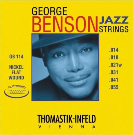 Thomastik GB114 George Benson Jazz Gitar Takım Tel
