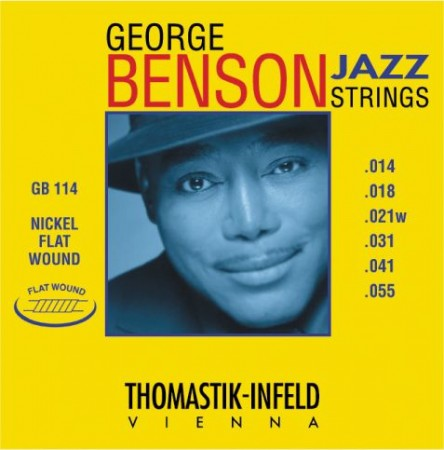 Thomastik - Thomastik GB114 George Benson Jazz Gitar Takım Tel