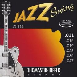 Thomastik JS111 Tıraşlı Jazz Swing Elektro Gitar Teli (11-47)