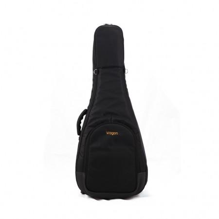 Wagon - Wagon 05 Serisi Kalın Siyah Akustik Gitar Taşıma Çantası-Gigbag