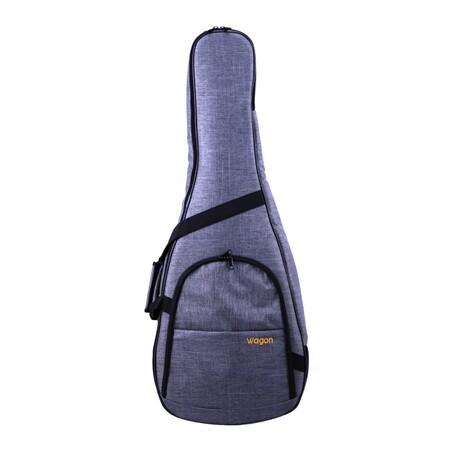 Wagon - Wagon Gri Akustik Gitar Taşıma Çantası-Gigbag