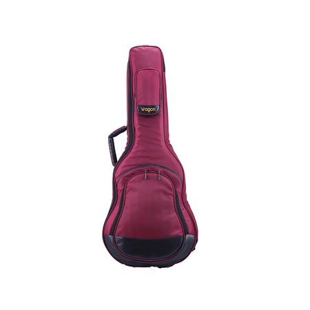 Wagon - Wagon Klasik Gitar Taşıma Çantası-Gigbag Bordo