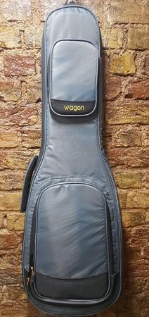 Wagon - Wagon İçi Pedli Kalın Gri Elektro Gitar Kılıfı