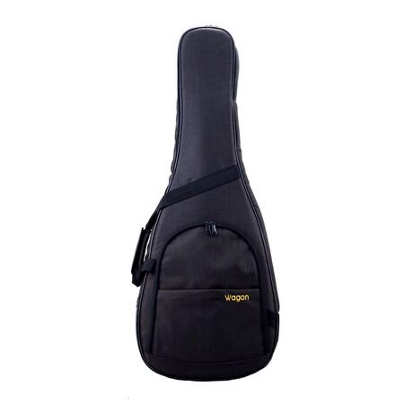 Wagon - Wagon Siyah Akustik Gitar Taşıma Çantası-Gigbag