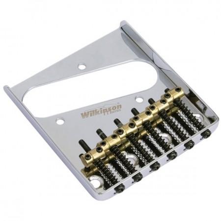 Wilkinson - Wilkinson WOT02 6 pirinç Saddle Telecaster Köprü