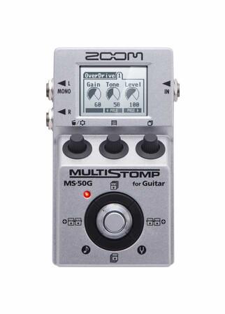 Zoom - Zoom MS-50G Multi Stompbox Elektro Gitar Prosesörü